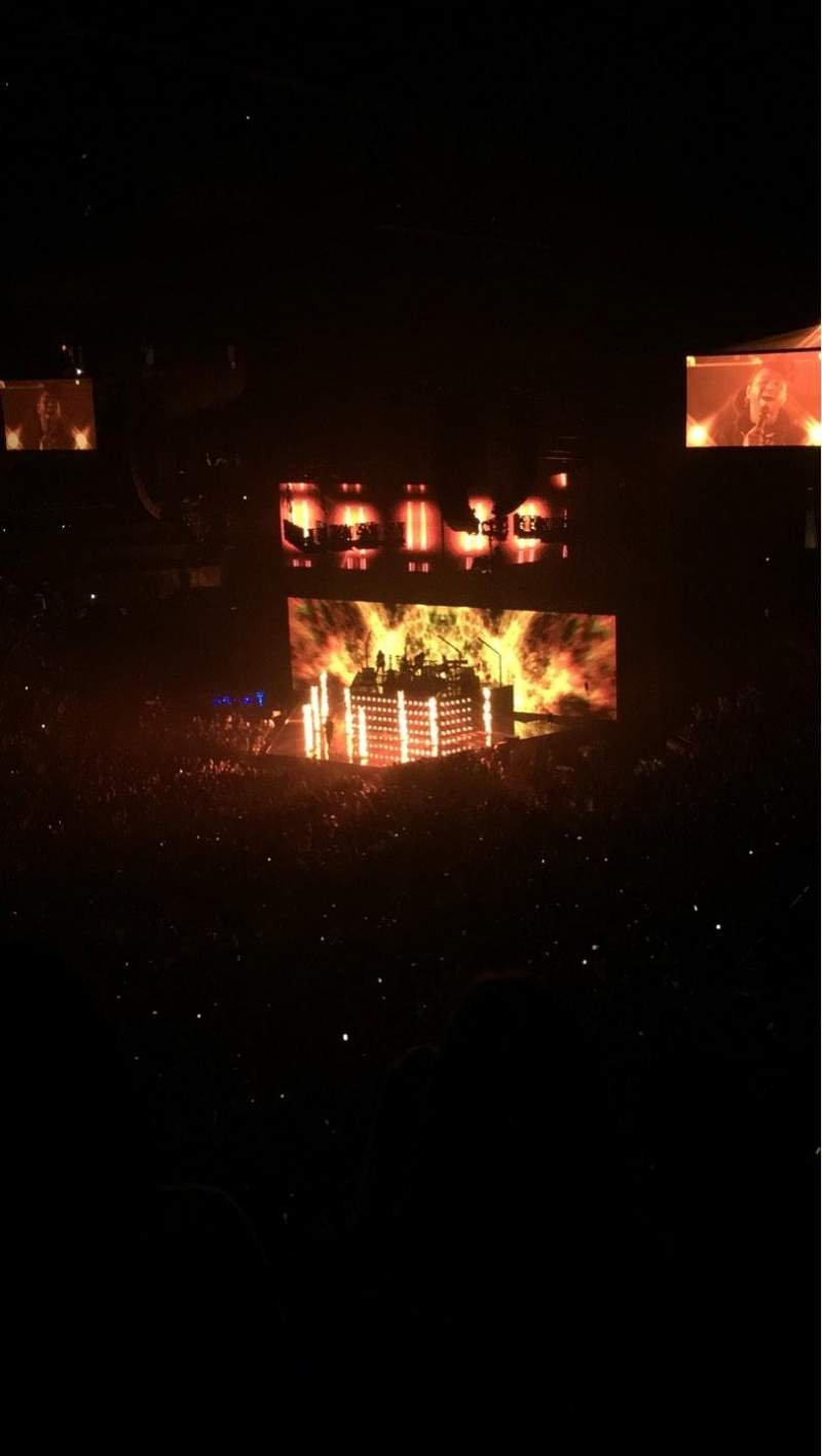 Barclays Center, section: 212, row: 6, seat: 4