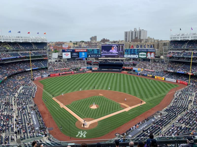 Seating view for Yankee Stadium Section 420a Row 7 Seat 14