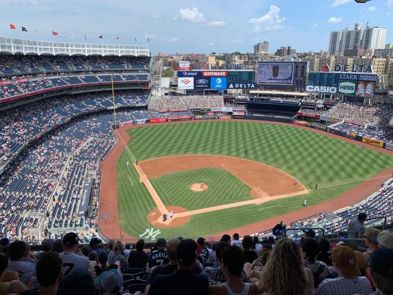 Seating view for Yankee Stadium Section 419 Row 11 Seat 10