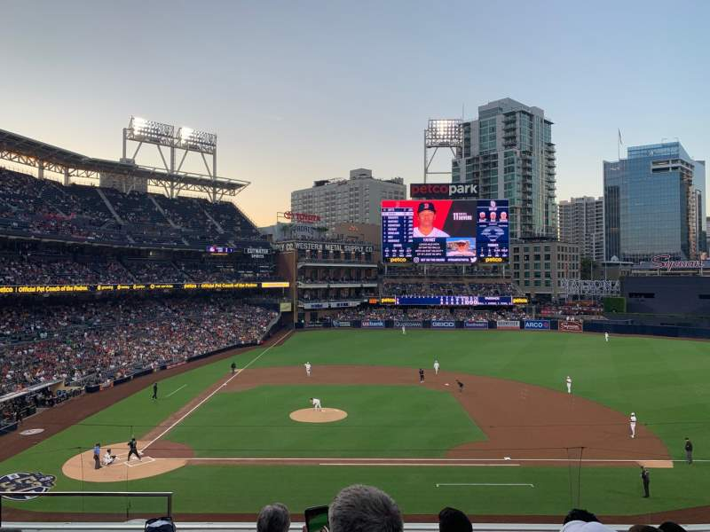 Seating view for PETCO Park Section 207 Row 5 Seat 3