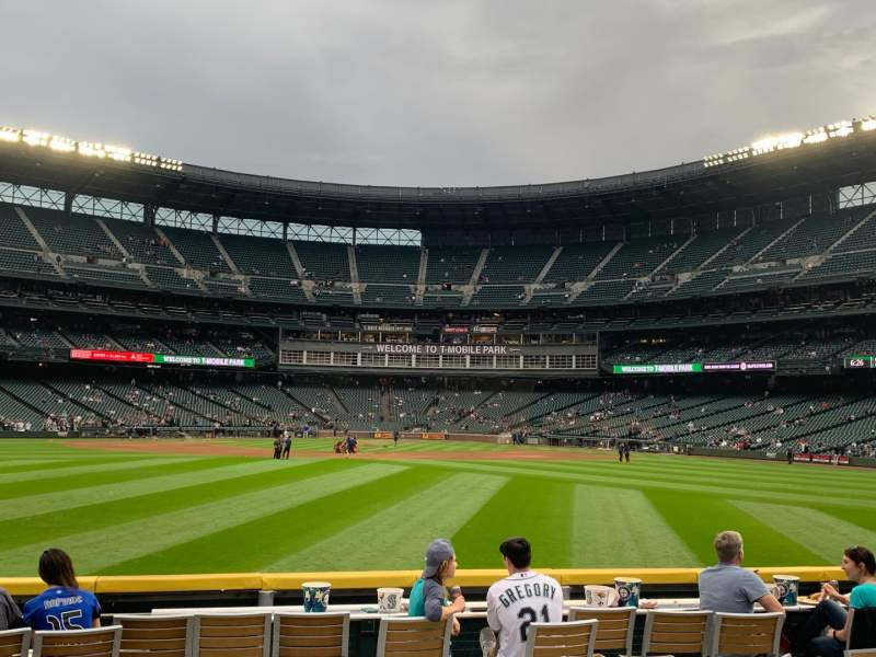 Seating view for T-Mobile Park Section The Pen