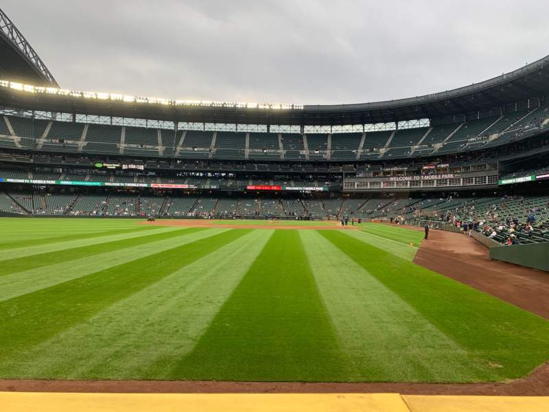 Seating view for T-Mobile Park Section Edgar's Cantina
