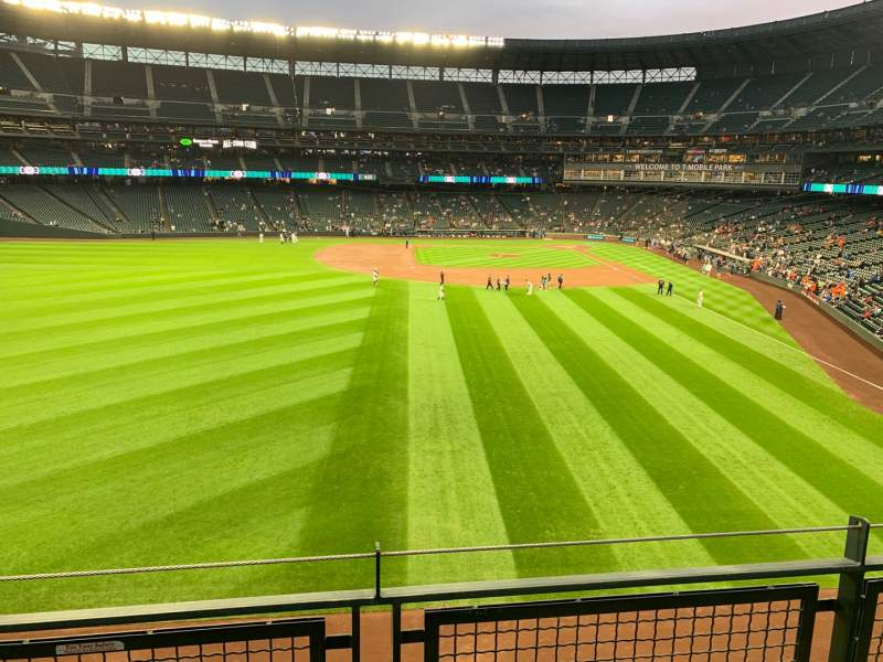 Seating view for T-Mobile Park Section 183 Row 1 Seat 15