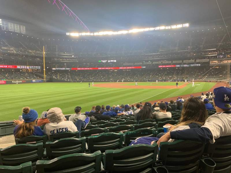 Seating view for T-Mobile Park Section 148 Row 20 Seat 15