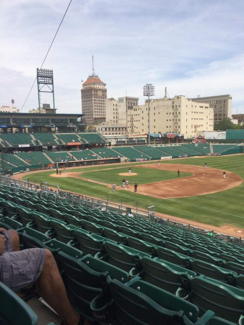 Seating view for Chukchansi Park Section 223