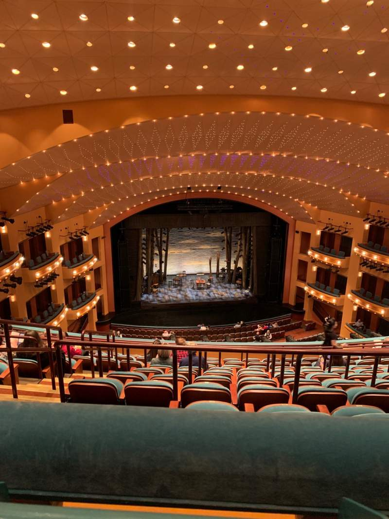Seating view for Procter And Gamble Hall at the Aronoff Center Section Balcony RC Row J Seat 206