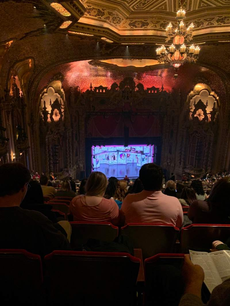 Seating view for Ohio Theatre (Columbus) Section Balcony D Row X Seat 7