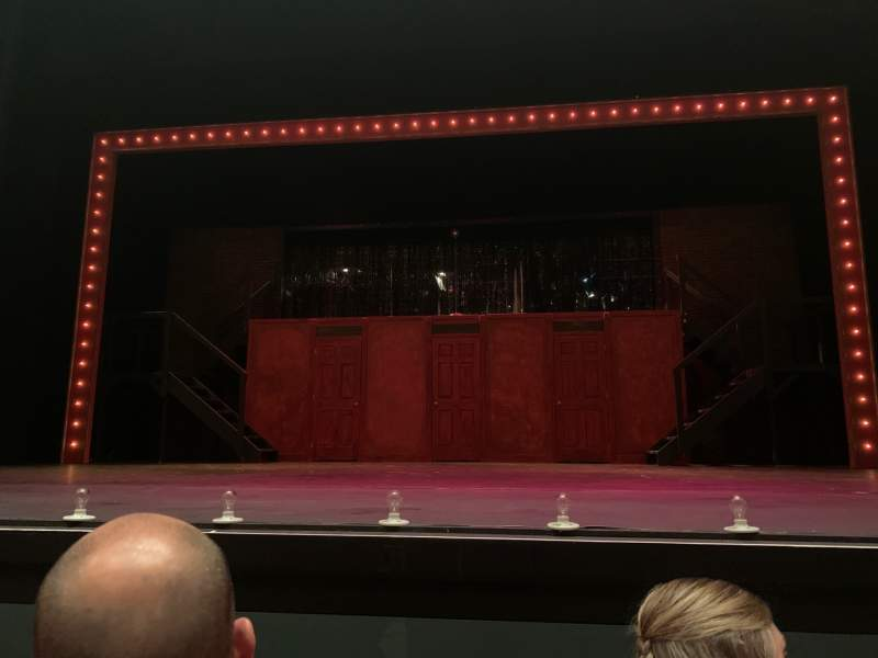 Seating view for Jarson-Kaplan Theater at The Aronoff Center Section ORCH Row E Seat 11