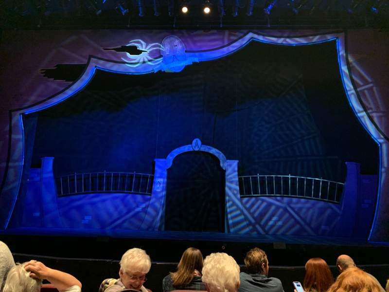 Seating view for Festival Playhouse at Wright State University Section Main Floor Row D Seat 13