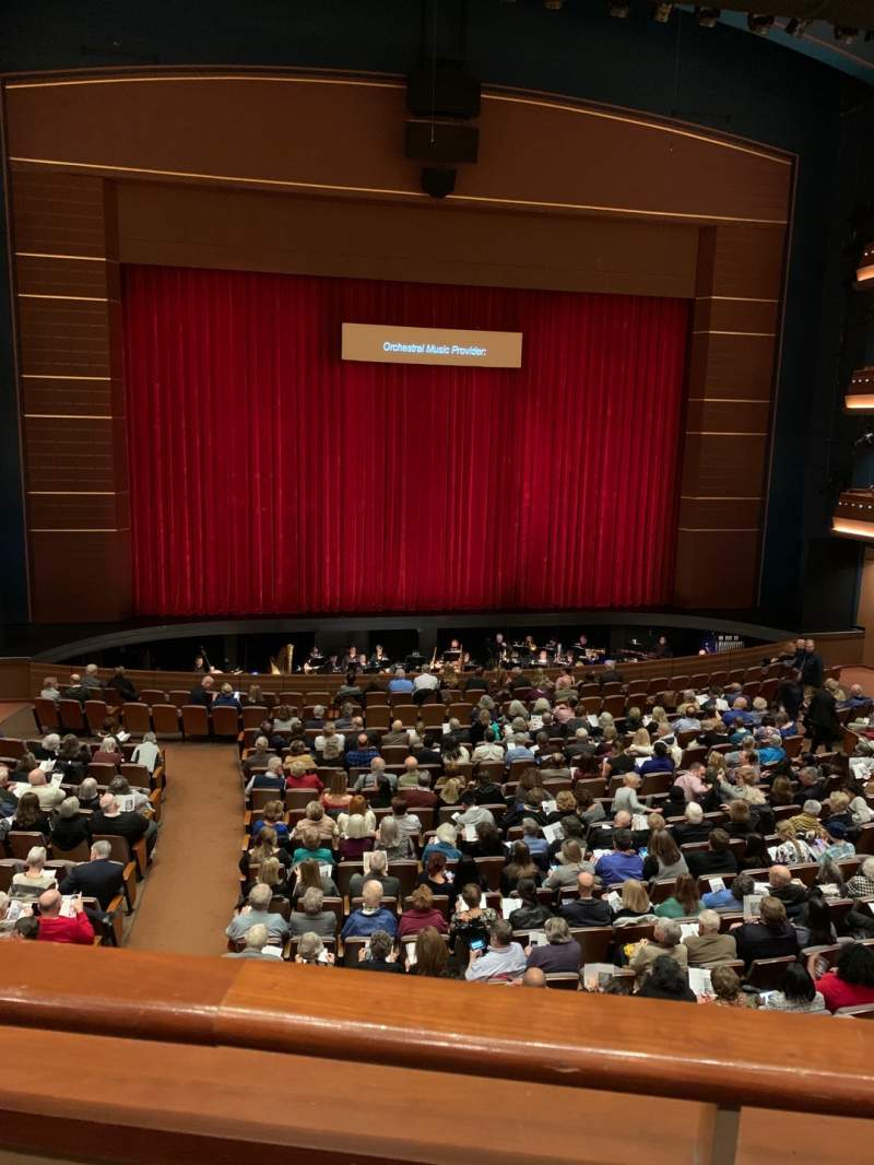 Seating view for Mead Theatre at the Schuster Center Section Loge Row A Seat 122