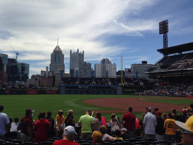 Seating view for Pnc Park Section 26 Row K Seat 6