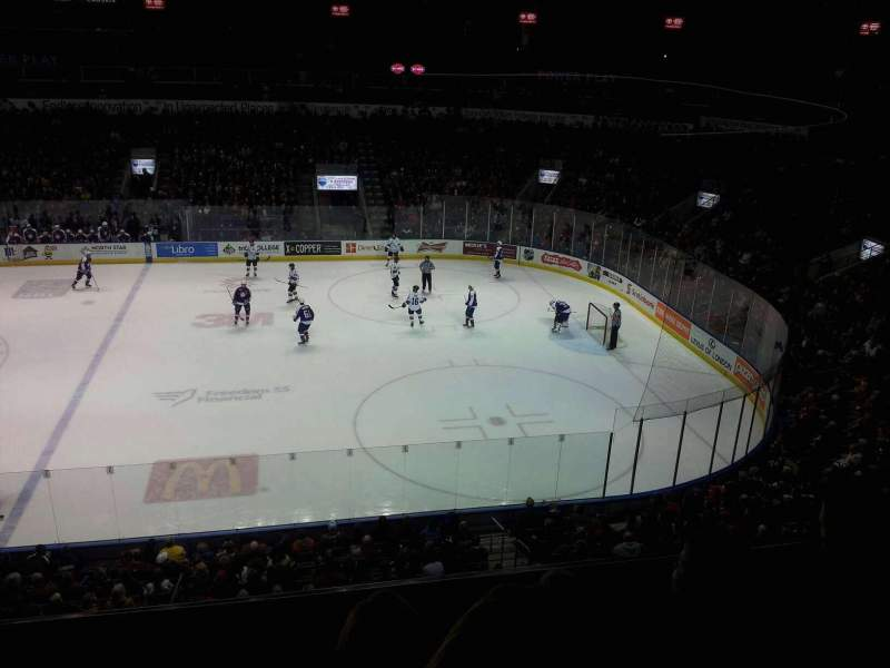 Seating view for Budweiser Gardens Section 314 Row c Seat 6