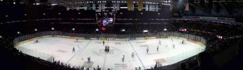 Seating view for Budweiser Gardens Section 304 Row STG Seat 31
