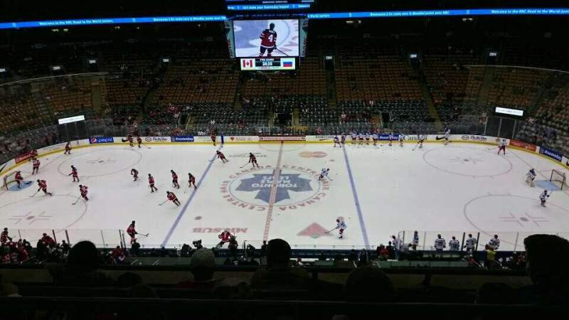 Seating view for Scotiabank Arena Section 321 Row 4 Seat 4