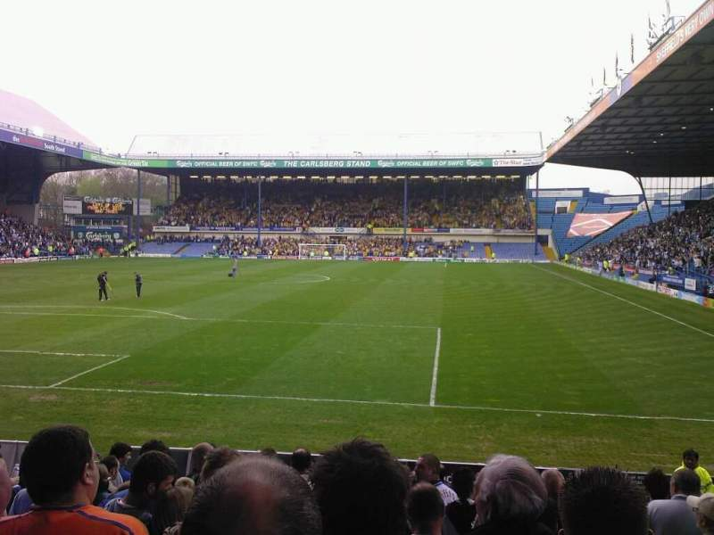 Seating view for Hillsborough Stadium Section X1 Row 16 Seat 175