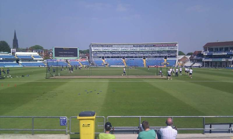 Seating view for Headingley Cricket Ground