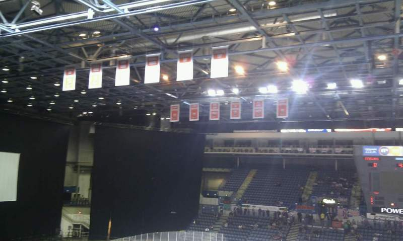 Seating view for Sheffield Arena