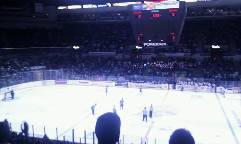 Seating view for Sheffield Arena Section 217 Row E Seat 20