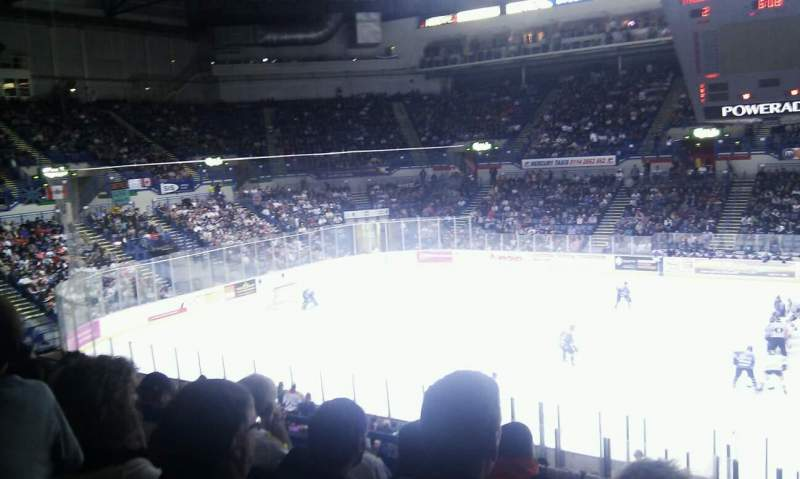 Seating view for FlyDSA Arena Section 217 Row E Seat 20