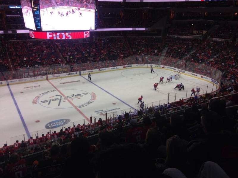 Seating view for Verizon Center Section 229 Row H Seat 5