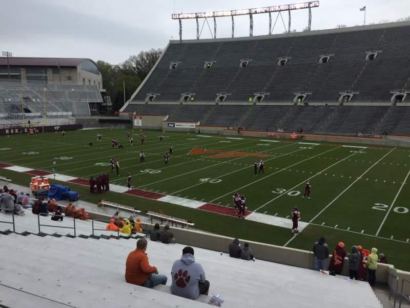 Lane Stadium, section: 16, row: CC, seat: 5