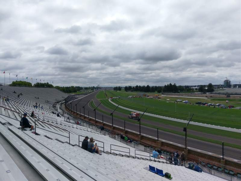 Seating view for Indianapolis Motor Speedway Section Northeast VIsta 13 Row AA Seat 13