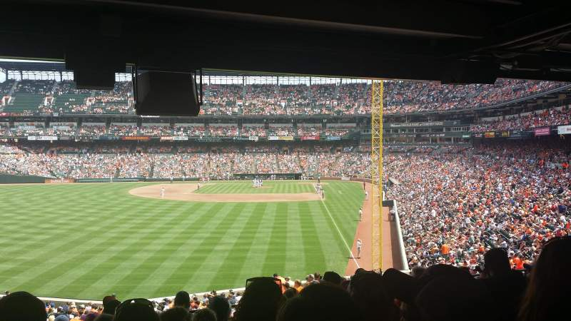 Oriole Park At Camden Yards Section 79 Row 10 Seat 14