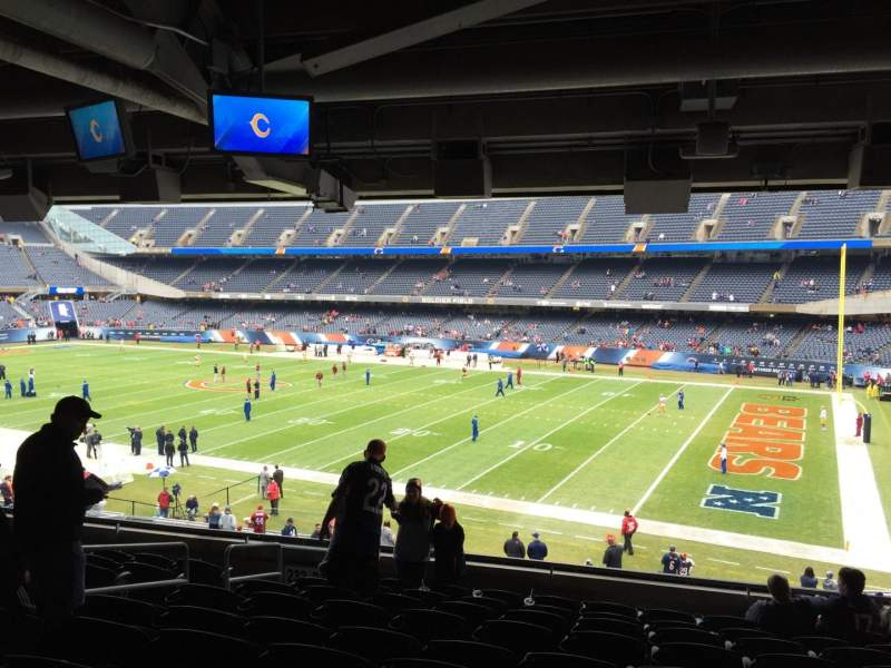 Seating view for Soldier Field Section 231 Row 10 Seat 8