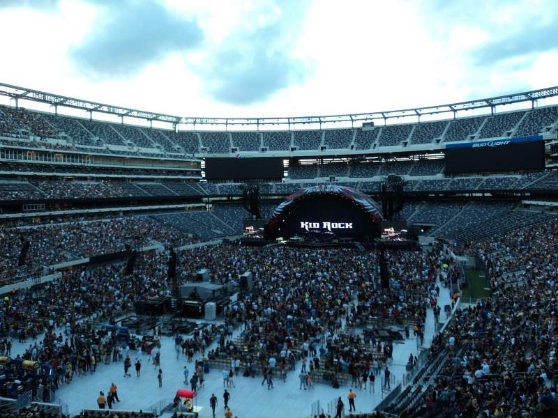 Seating view for Metlife Stadium Section 222A Row 2 Seat 17