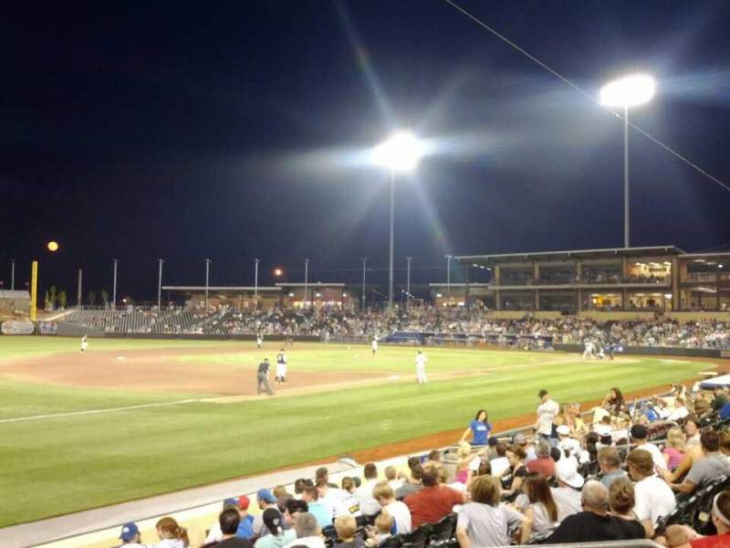 Seating view for Werner Park Section 122 Row 11 Seat 7