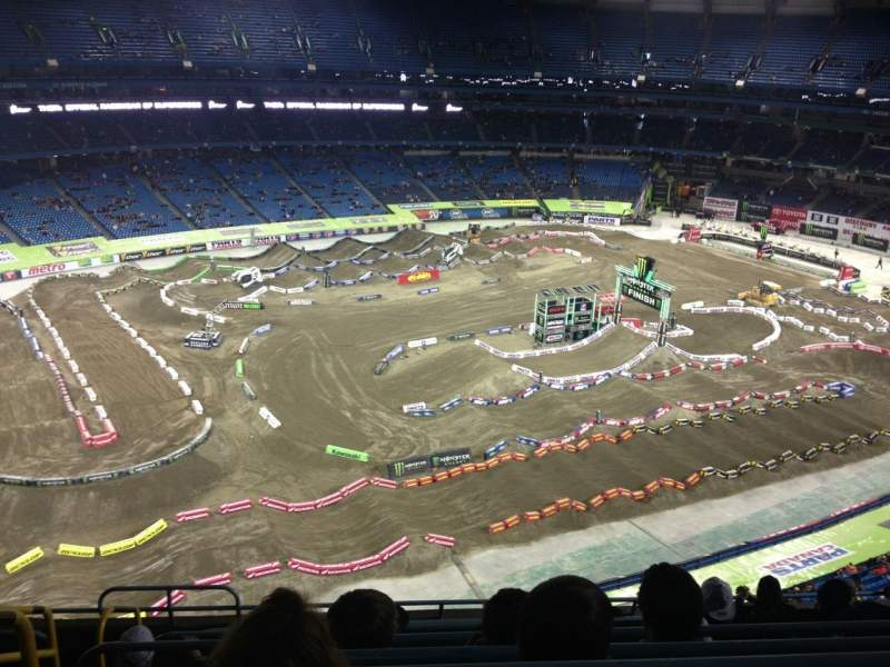 Seating view for Rogers centre Section 541R Row 9 Seat 2