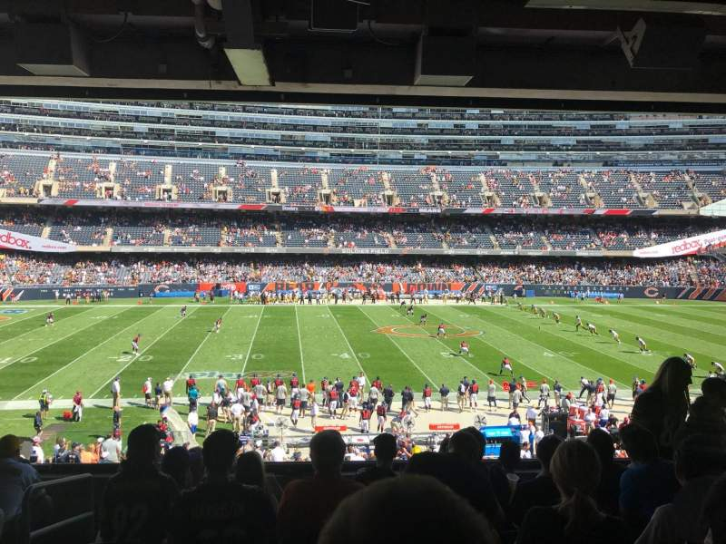 Soldier Field, section: 239, row: 7, seat: 3