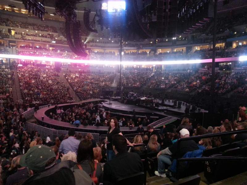 Pepsi Center, section: 148, row: 16, seat: 4