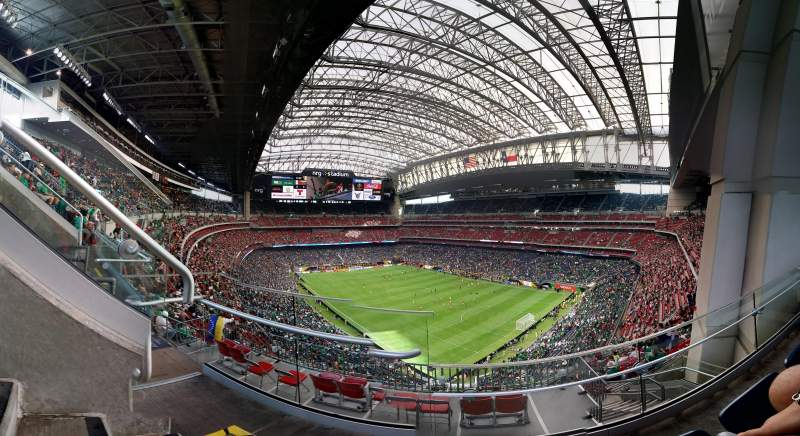 Seating view for NRG Stadium Section 627 Row B Seat 7