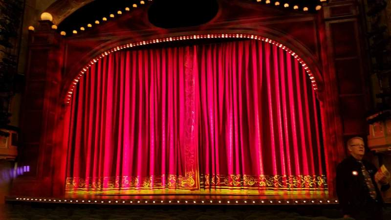 Seating view for Shubert Theatre Section Orchestra-Center Row N Seat 102