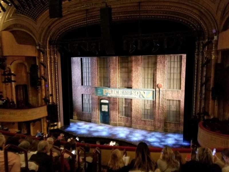 Al Hirschfeld Theatre, section: Mezzanine-Right, row: G, seat: 6