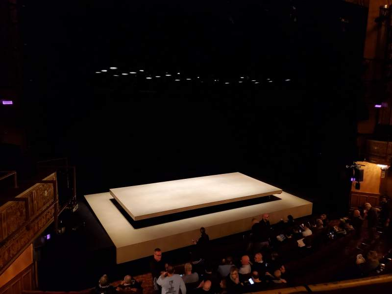 Seating view for Ethel Barrymore Theatre Section Front Mezzanine L Row A Seat 11