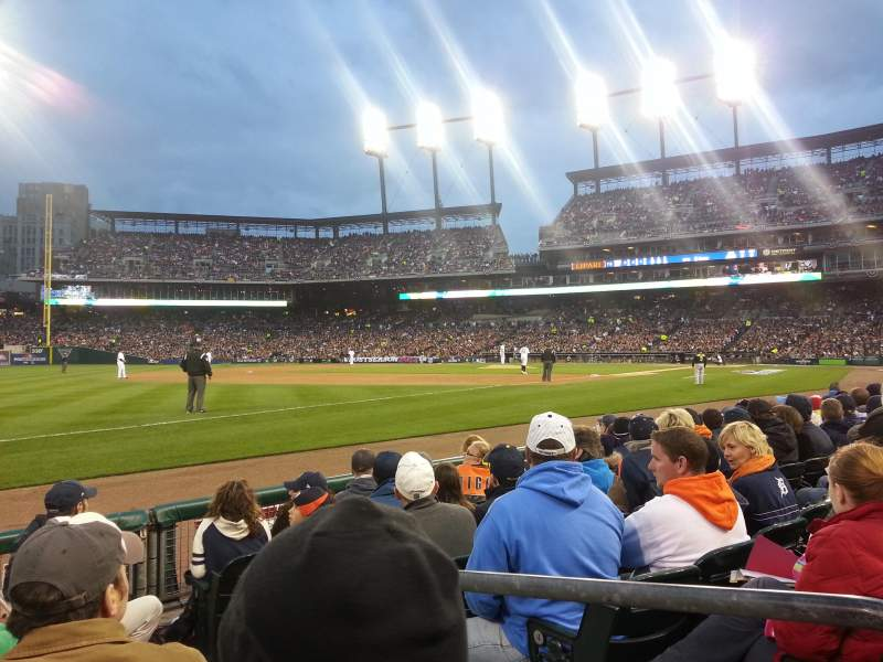 Seating view for Comerica Park Section 139 Row 6 Seat 2