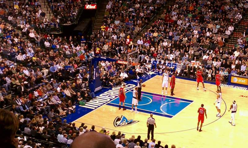 Seating view for American Airlines Center Section 209 Row d Seat 7