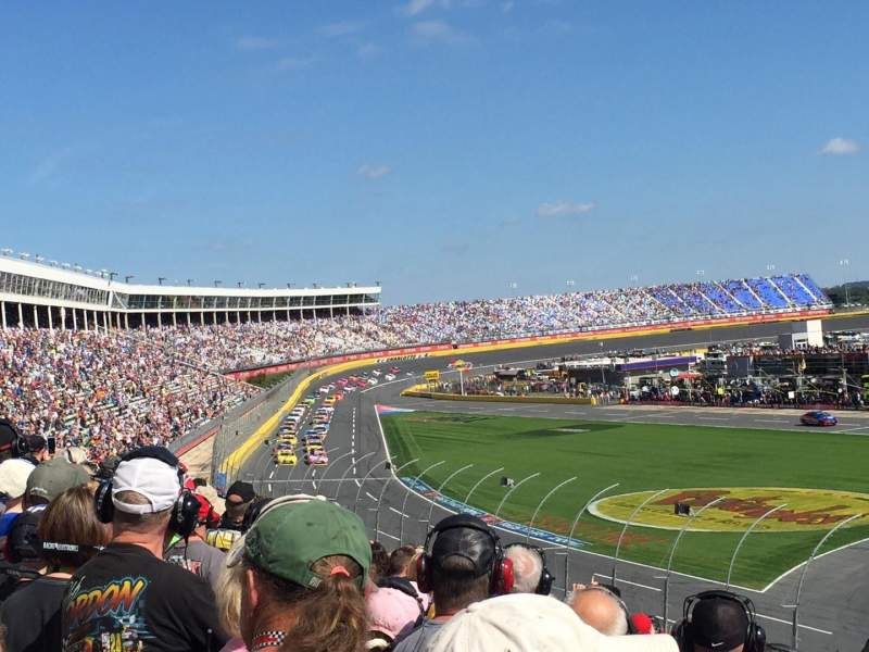 Seating view for Charlotte Motor Speedway Section GM Sec G Row 26 Seat 29