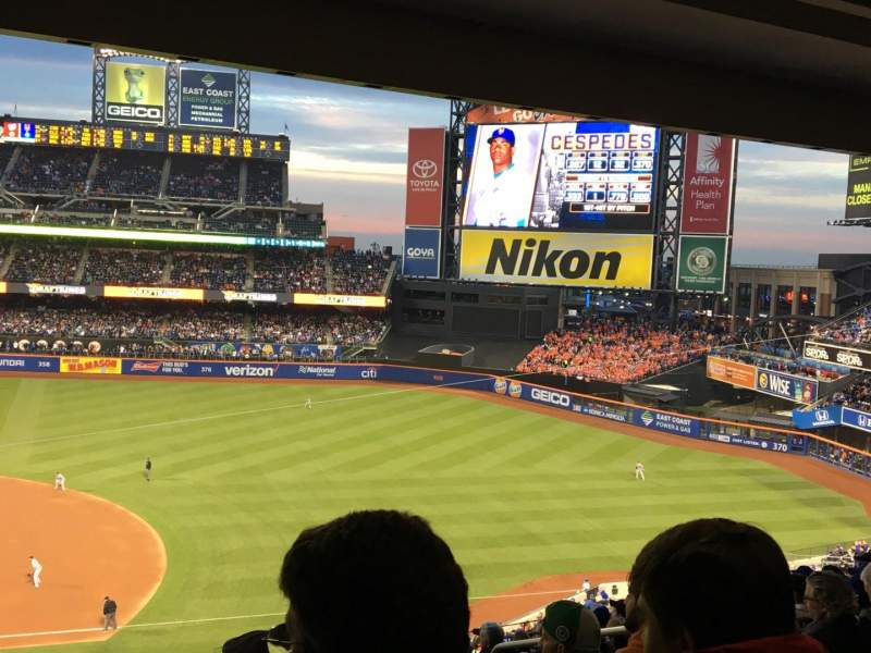 Seating view for Citi Field Section 311 Row 10 Seat 19