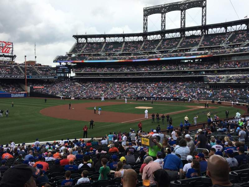 Seating view for Citi Field Section 126 Row 26 Seat 14