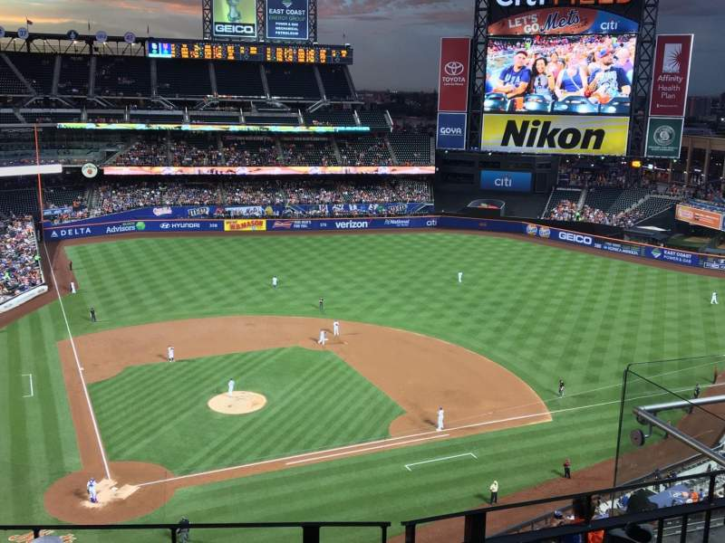 Seating view for Citi Field Section 510 Row 3 Seat 13