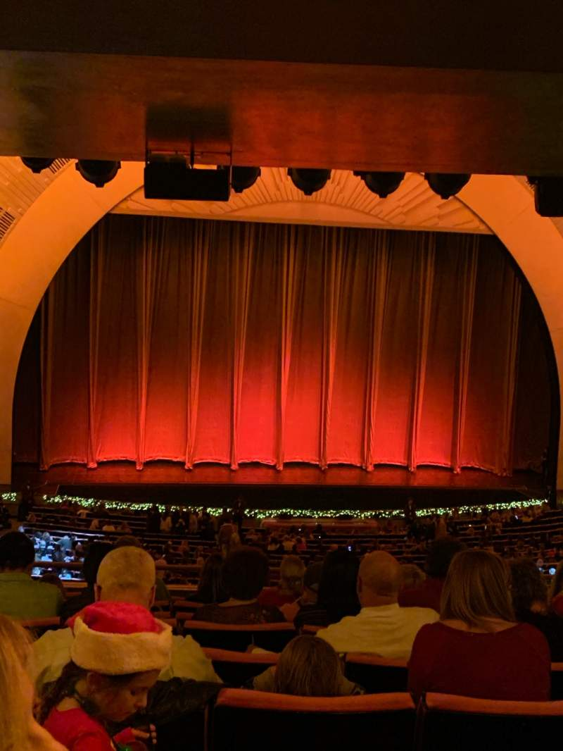 Seating view for Radio City Music Hall Section 1st Mezzanine 5 Row J Seat 507