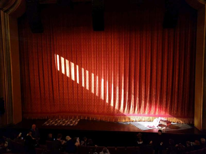 Seating view for St. James Theatre Section Mezzanine C Row A Seat 105