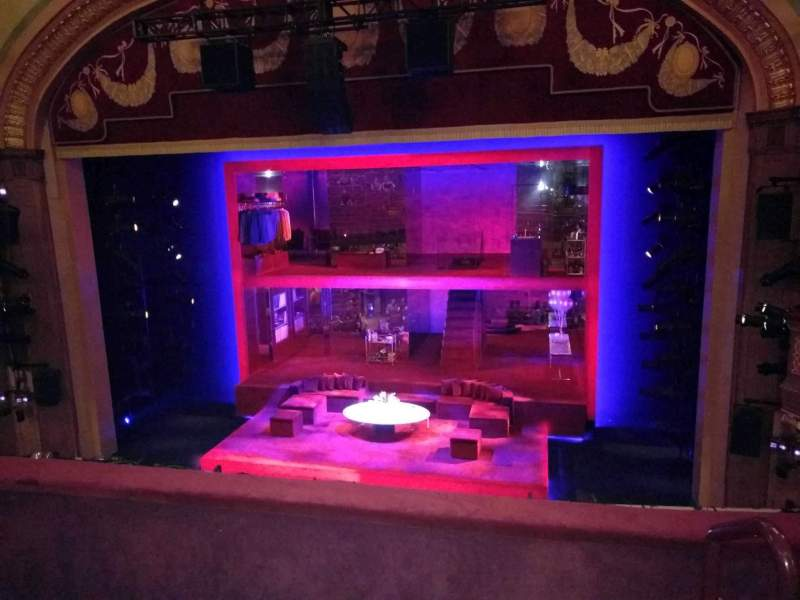 Seating view for Booth Theatre Section Mezzanine C Row C Seat 114