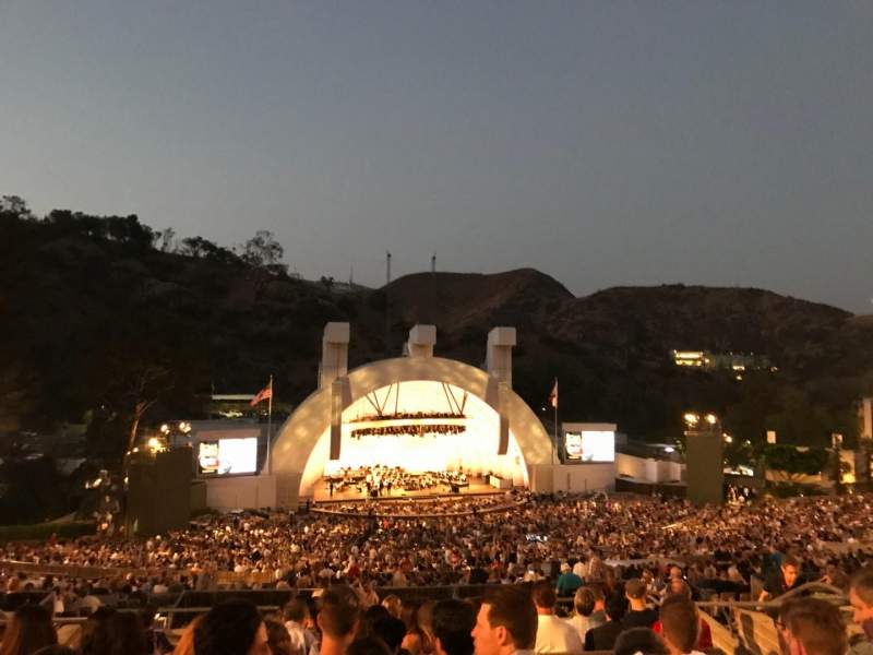 Hollywood Bowl, section: N3, row: 11, seat: 17