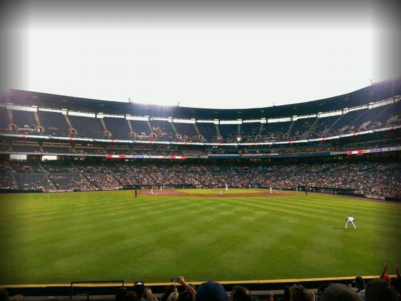Seating view for Turner Field Section 144 Row 22 Seat 4