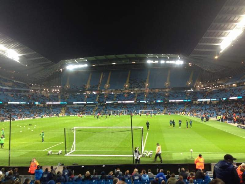 Seating view for Etihad Stadium (Manchester) Section 135 Row U Seat 971