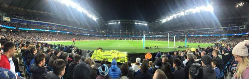 Seating view for Etihad Stadium (Manchester) Section 137 Row D Seat 1040